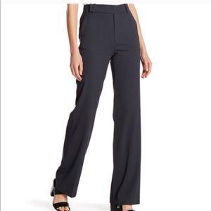 Vince. High Waist Wool Wide Leg Grey Trouser